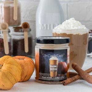 Basic- Funny Pumpkin Spice Latte Jar Candle